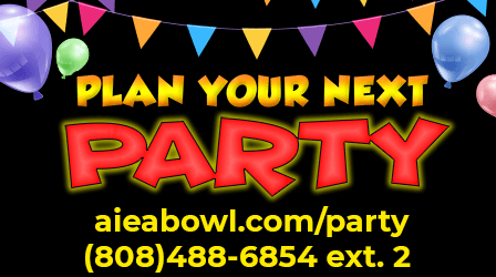Plan your next party with Aiea Bowl
