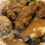 The Alley Mix Plate: Tasty Chicken and Loco Moco