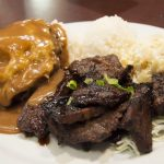 The Alley Mix Plate - Loco Moco + Boneless Kalbi